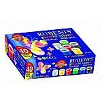 KIRTASİYE 09675 RUBENIS RGB-30-6 LI GUAJ BOYA