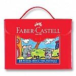 KIRTASİYE 6095 FABER CASTEL ÇANTALI PASTEL BOYA 18Lİ