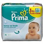 PRIMA PAMPERS ISLAK HAVLU 64LÜ FRESH 3 LÜ PAKET