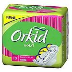 ORKİD PED 8LI MAXİ TEKLİ UZUN 10LU