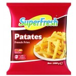 SUPERFRESH PATATES 1 KG. .