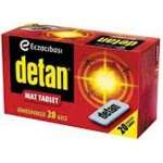 DETAN SÜPER MAT TABLET 102ML