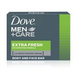 DOVE SABUN MEN CR BAR EXTRA FRESH 90 GR