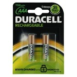 DURACELL AAA İNCE PİL RECHARGEABLE .800 2Lİ