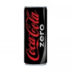 COCA COLA ZERO KUTU 250 ML